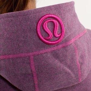 Lululemon sweater hoodie pink purple rare BNWOT